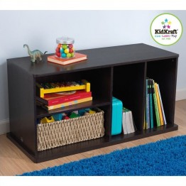 KidKraft Add On Storage Unit in Espresso