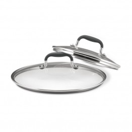Anolon Accessories 2 Piece Glass Lid Set
