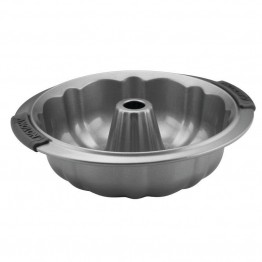 Anolon Advanced Bakeware Nonstick Fluted Mold Pan in Gray