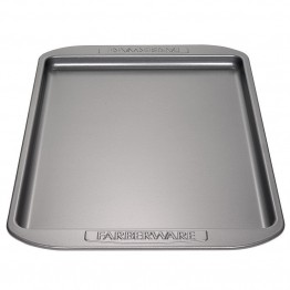 "Farberware Bakeware 10"""" x 15"""" Nonstick Baking Sheet in Gray"