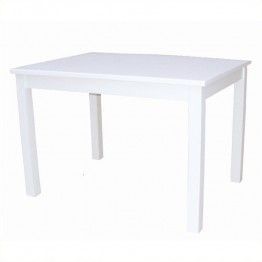 International Concepts Mission Kids Table in Linen White