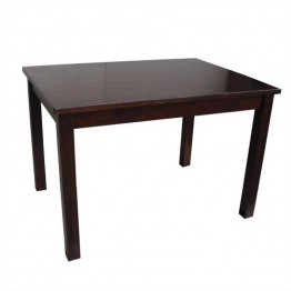 International Concepts Mission Kids Table in Rich Mocha