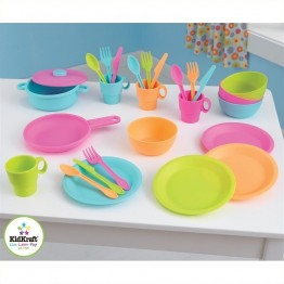 Kidkraft 27 Piece Bright Cookware Set