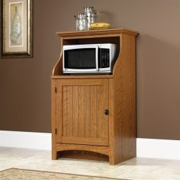 Sauder Summer Home Gourmet Stand in Carolina Oak Finish