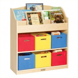 Guidecraft Book and Bin Storage