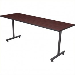 Regency Kobe 72 Inch Rectangular Training Table in Mahogany