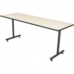Regency Kobe 72 Inch Rectangular Training Table in Beige