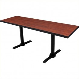 Regency Cain Rectangular Training Table in Cherry