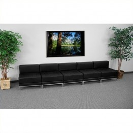 Flash Furniture Hercules Imagination Lounge Set in Black