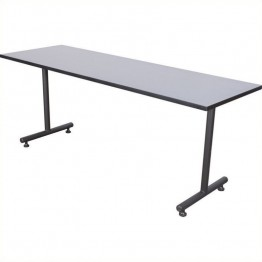 Regency Kobe 60 Inch Rectangular Training Table in Grey