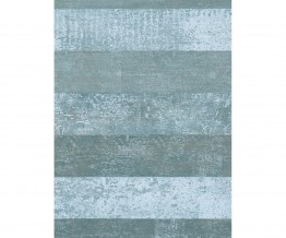 Teal White Timber Wallpaper