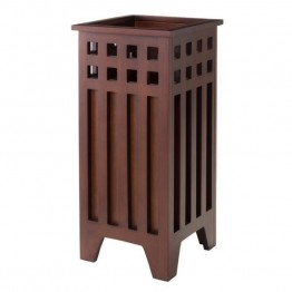Winsome Aria Mission Umbrella Stand in Walnut