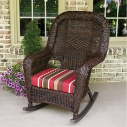 Tortuga Lexington Rocking Chair-Java and Rave Brick