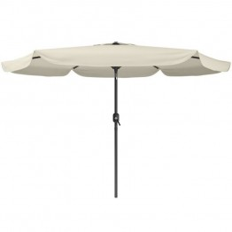 Sonax CorLiving Tilting Patio Umbrella in Warm White