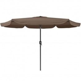 Sonax CorLiving Tilting Patio Umbrella in Sandy Brown