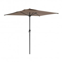 Sonax CorLiving Square Patio Umbrella in Sandy Brown