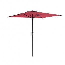 Sonax CorLiving Square Patio Umbrella in Wine Red