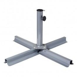 Sonax CorLiving Patio Umbrella Stand in Gray