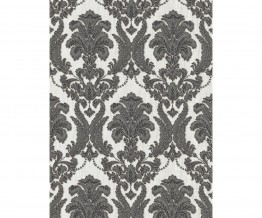Ornamental Damask Black 5780-15 Wallpaper