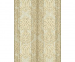 Ornated Floral Damask Stripes Cream 5781-14 Wallpaper