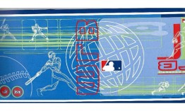 Blue MLB Baseball Moves 5815435 Wallpaper Border