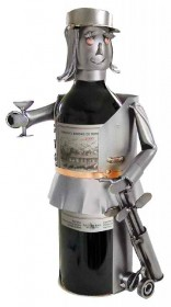 Golfer-Female Wine Bottle Holder
