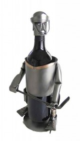 Hockey Wine Bottle Holder