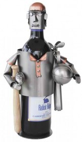 Sports Fanatic Wine Bottle Holder