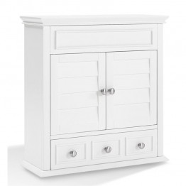 Crosely Lydia Medicine Cabinet in White
