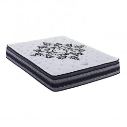 Signature Sleep Black Twin Independently Encased Coil Mattress