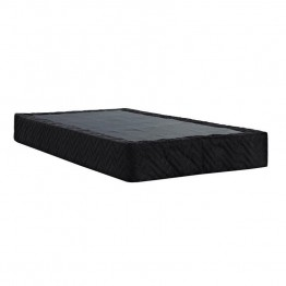 Signature Sleep Black Full Premium Steel Mattress Foundation