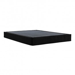 Signature Sleep Black Queen Premium Steel Mattress Foundation