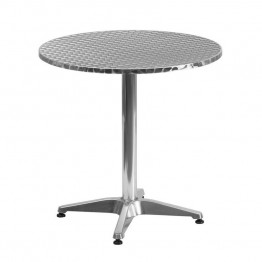 "Flash Furniture Aluminum 27.5"""" Round Bistro Table"