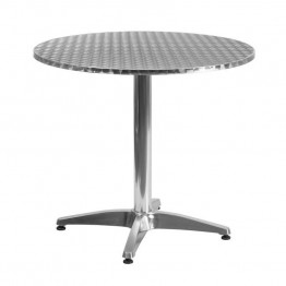 "Flash Furniture Aluminum 31.5"""" Round Bistro Table"