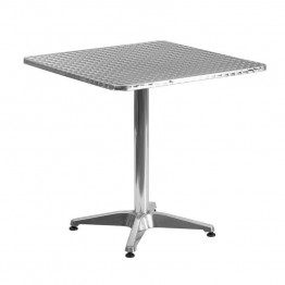 "Flash Furniture Aluminum 27.5"""" Square Bistro Table"