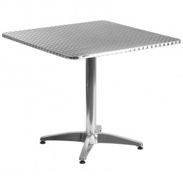 "Flash Furniture Aluminum 31.5"""" Square Bistro Table"