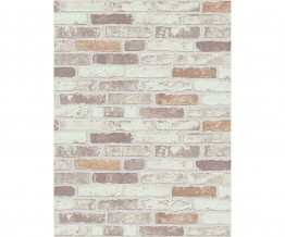 Beige 6703-11 Brick Wallpaper