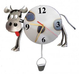 Milk Me Cow Wall Clock