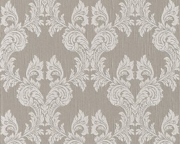 Beige Grey Tessuto 956306 Wallpaper