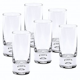 Galaxy 6 Pc Shot or Vodka Glass Set