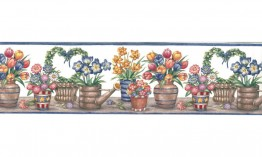 006153 BY Floral BY6153 Wallpaper Border
