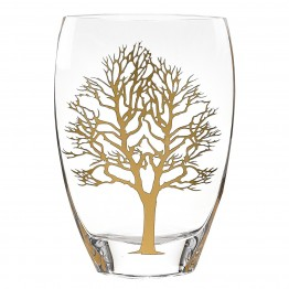 Gold Tree of Life Vase