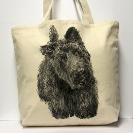 Scottie Tote Bag Large