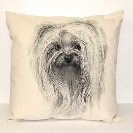 Yorkie Decorative Pillow Large