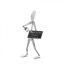 Business Card Holder Functional Fork