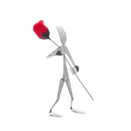 Rose Bud Holder Display Fork