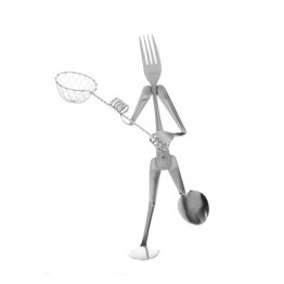 Lacrosse Player Display Fork