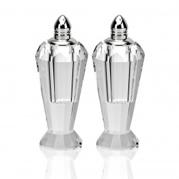 Preston Salt & Pepper 4 inches Silver Tops