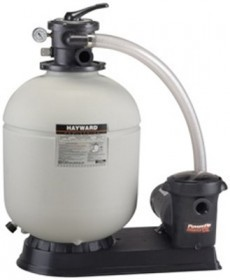 HAYWARD 166T ABOVEGROUND SAND FILTER SYSTEM