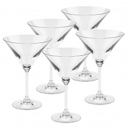 Celebrate Martini 6 oz.  6pc Set